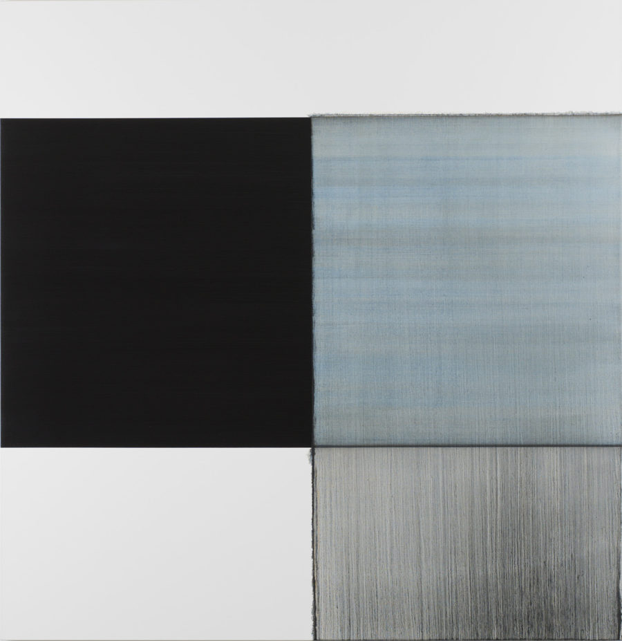 Ci15 02 Callum Innes Exposed Painting Delft Blue 2015 Oil On Linen 180 X 175 Ci C 34 2015
